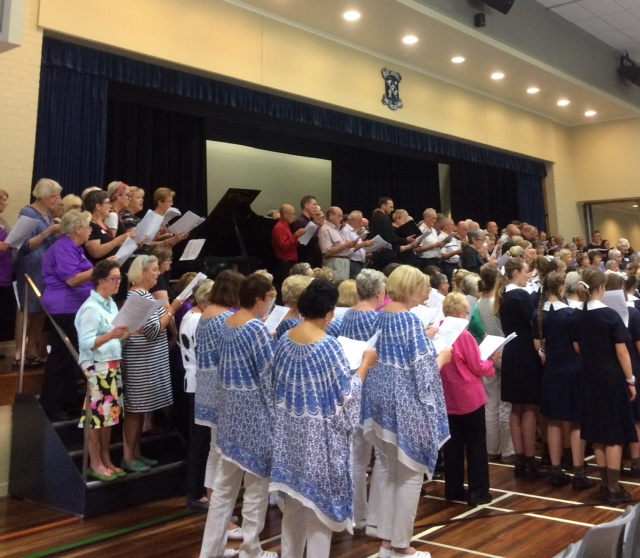 The Big Sing comes to the Gold Coast
